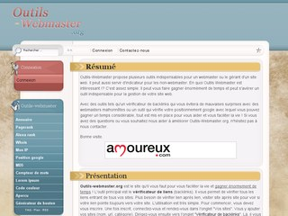 Outils-Webmaster